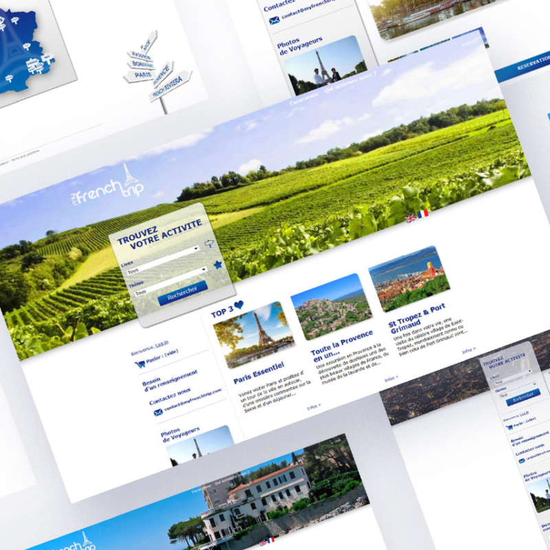 Webdesign myfrenchtrip